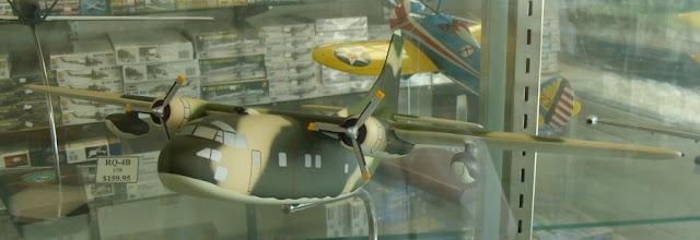 C-123 Provider desktop scale model