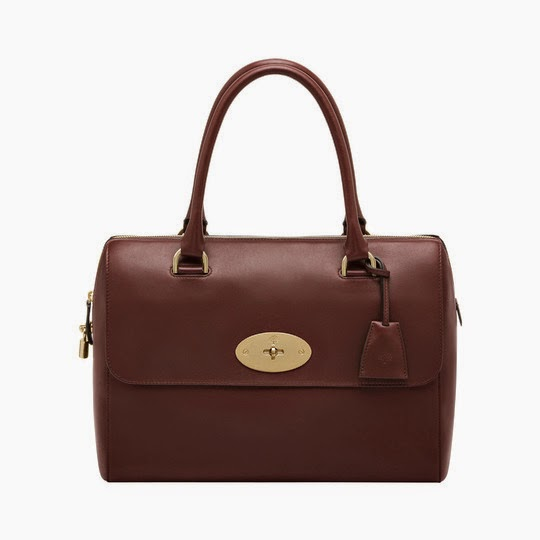 Mulberry Del Rey Bag in Oxblood