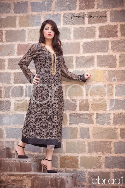 Abraaj Party Wears Dresses Collection 2013-2014 For Girls & Bridal By Fashion She9