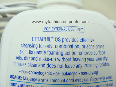 Cetaphil OS - Cleanser For Oily Skin
