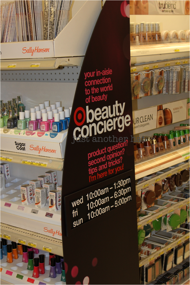 just another hat  beauty concierge service at target