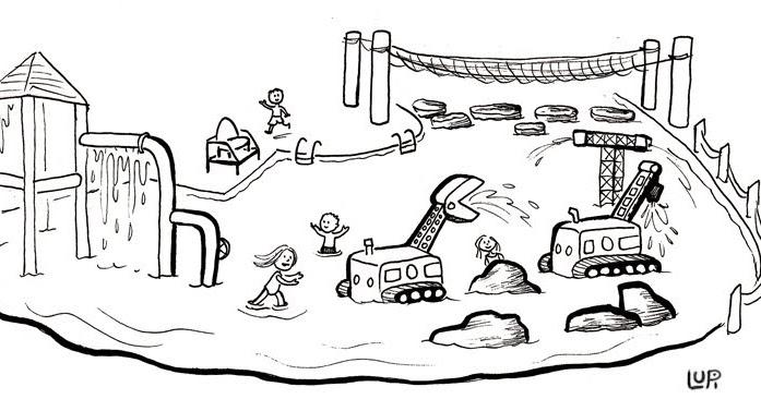 urban sketchers twin cities  jim lupient water park
