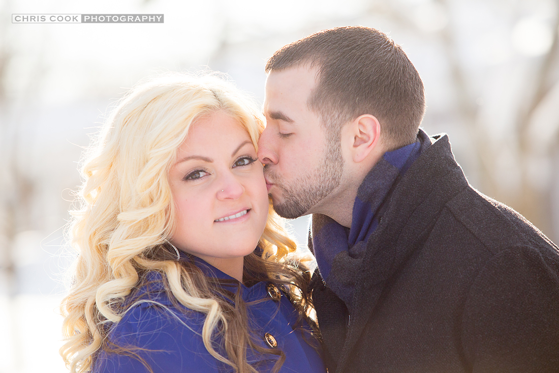 Cape Cod wedding blog photo from Chris Cook Photography about Winter e-session in Chatham