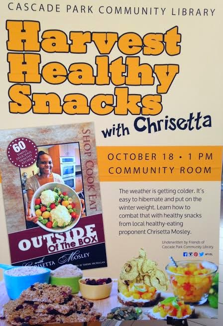 Harvest Healthy Snacks with Chrisetta