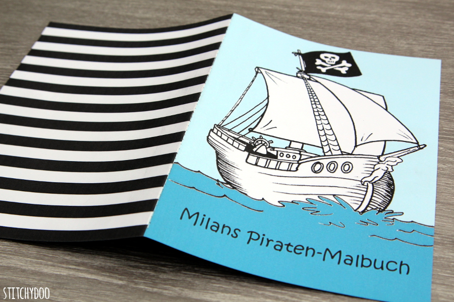 stitchydoo: DIY Piraten-Malbuch