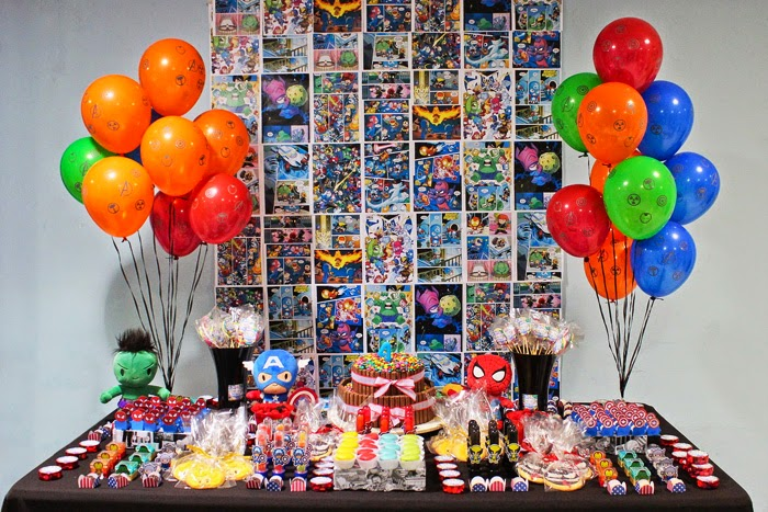 Festa, Heróis, Marvel, Baby, Super, Aniversário Infantil, Brasília