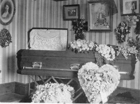 William Albert Griepentrog - open casket