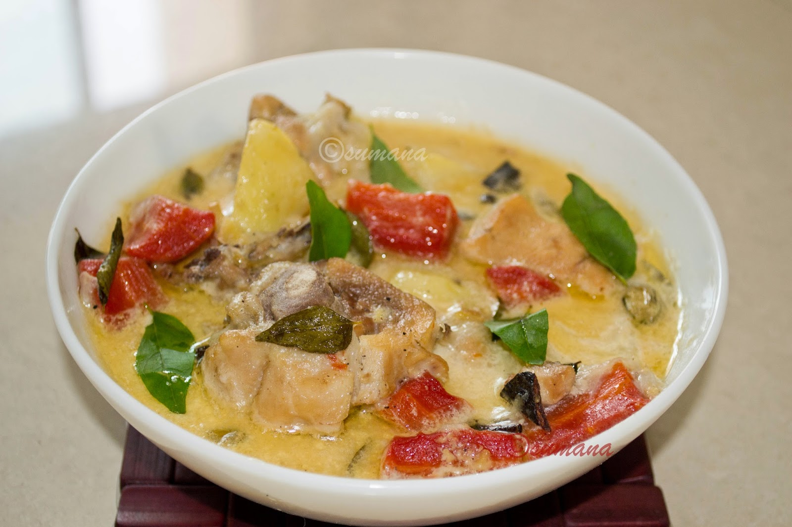 Keralian Chicken Stew with Coconut milk