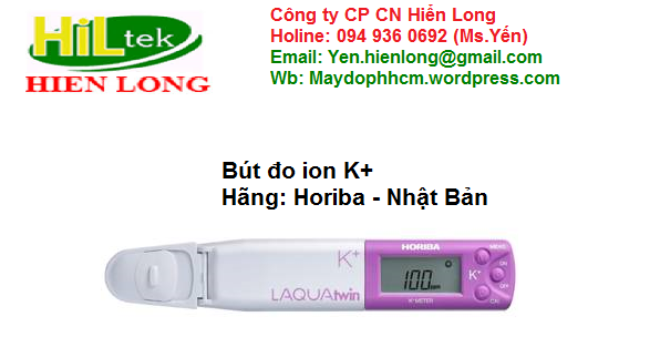 Bút đo ion K+ Horiba B-731