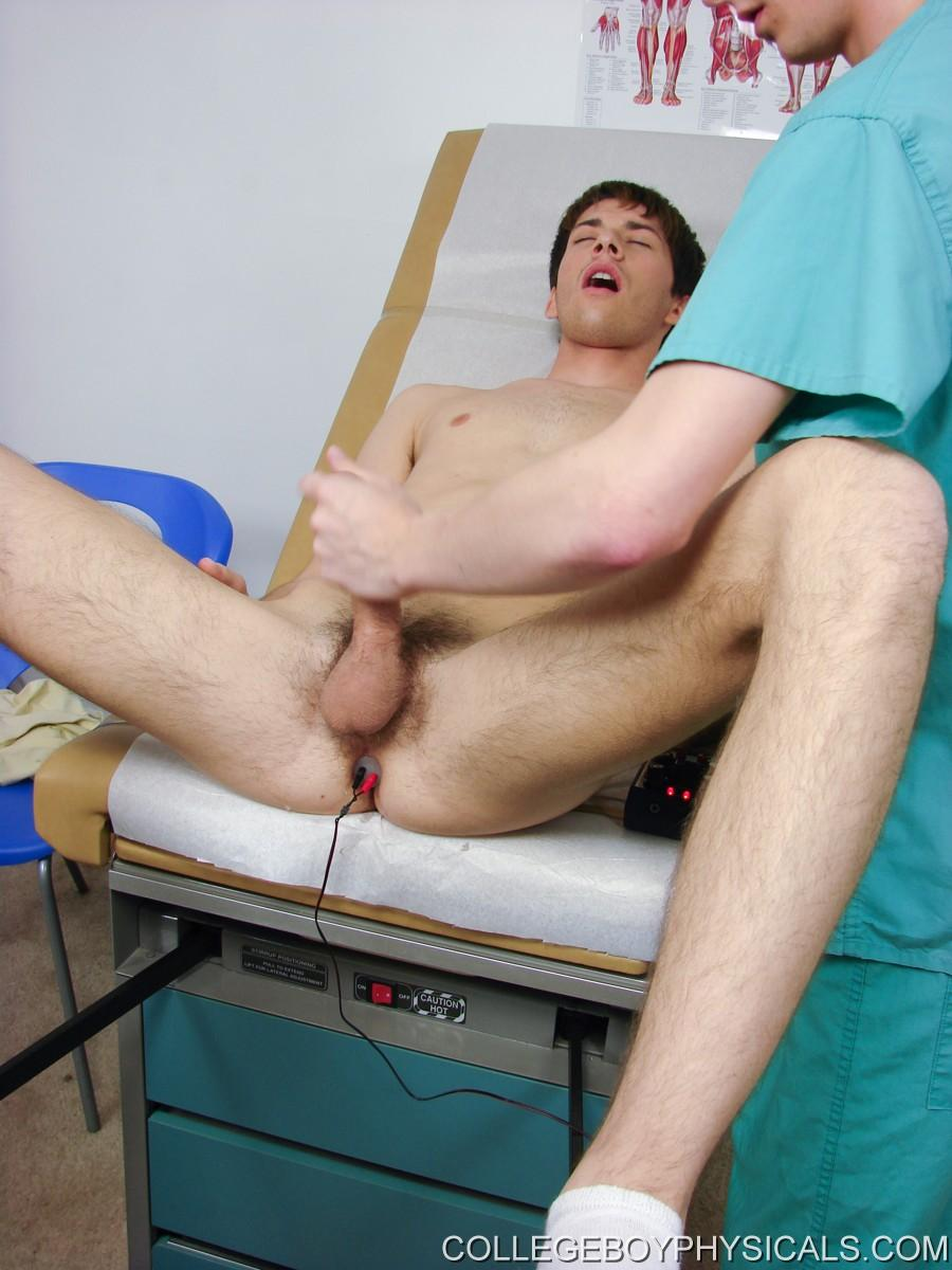 image Straight man physical by gay doctor naked