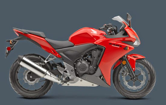 HONDA CBR 500R RED