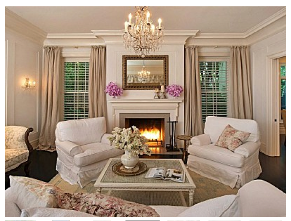 French country style Country style living room ideas
