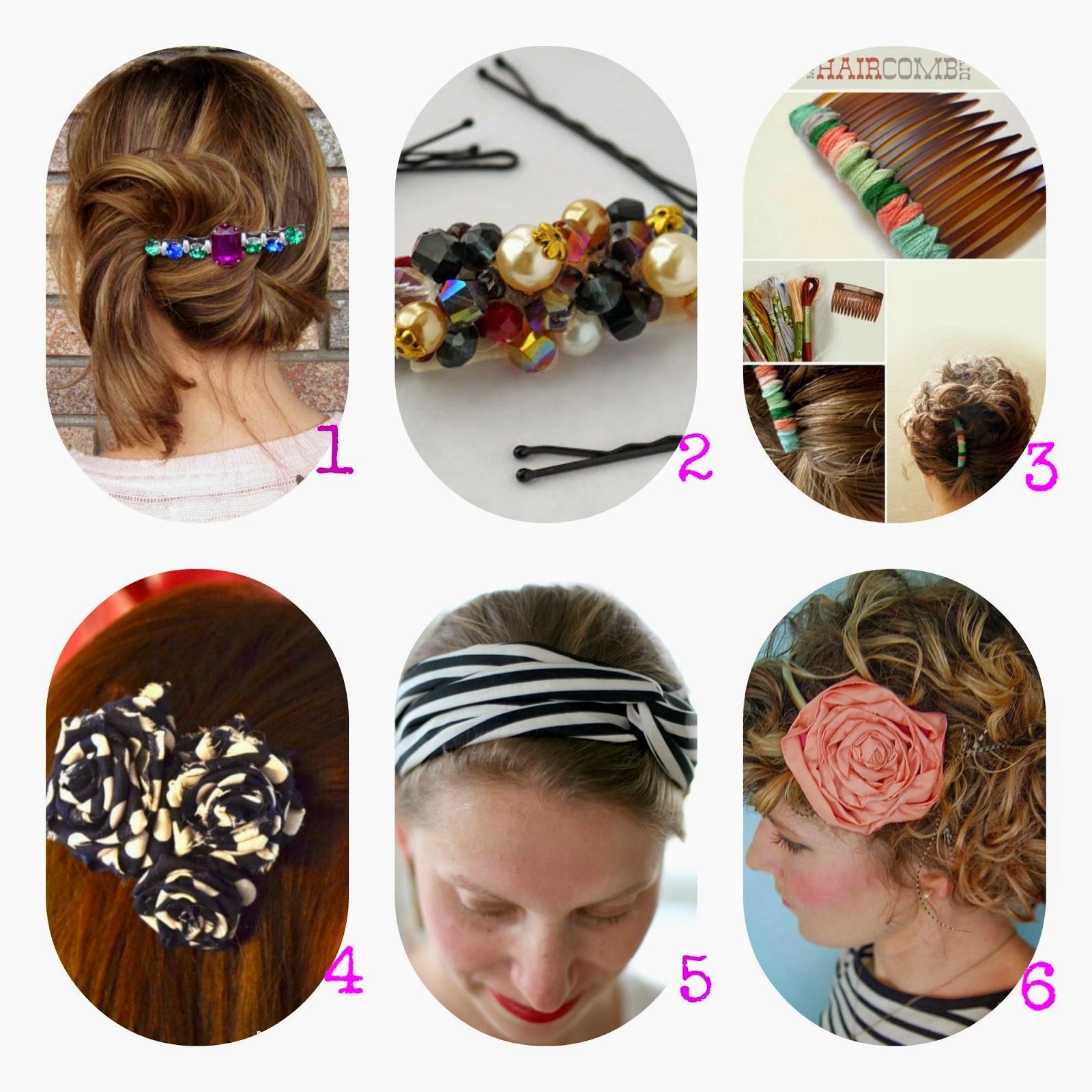 Moda fai da te, Accessori per capelli, Bellissimi tutorial dal web