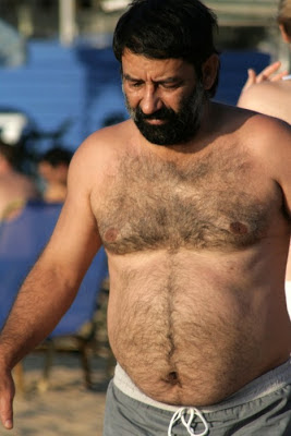 gay hairy mature - nude mature beach - very hairy man