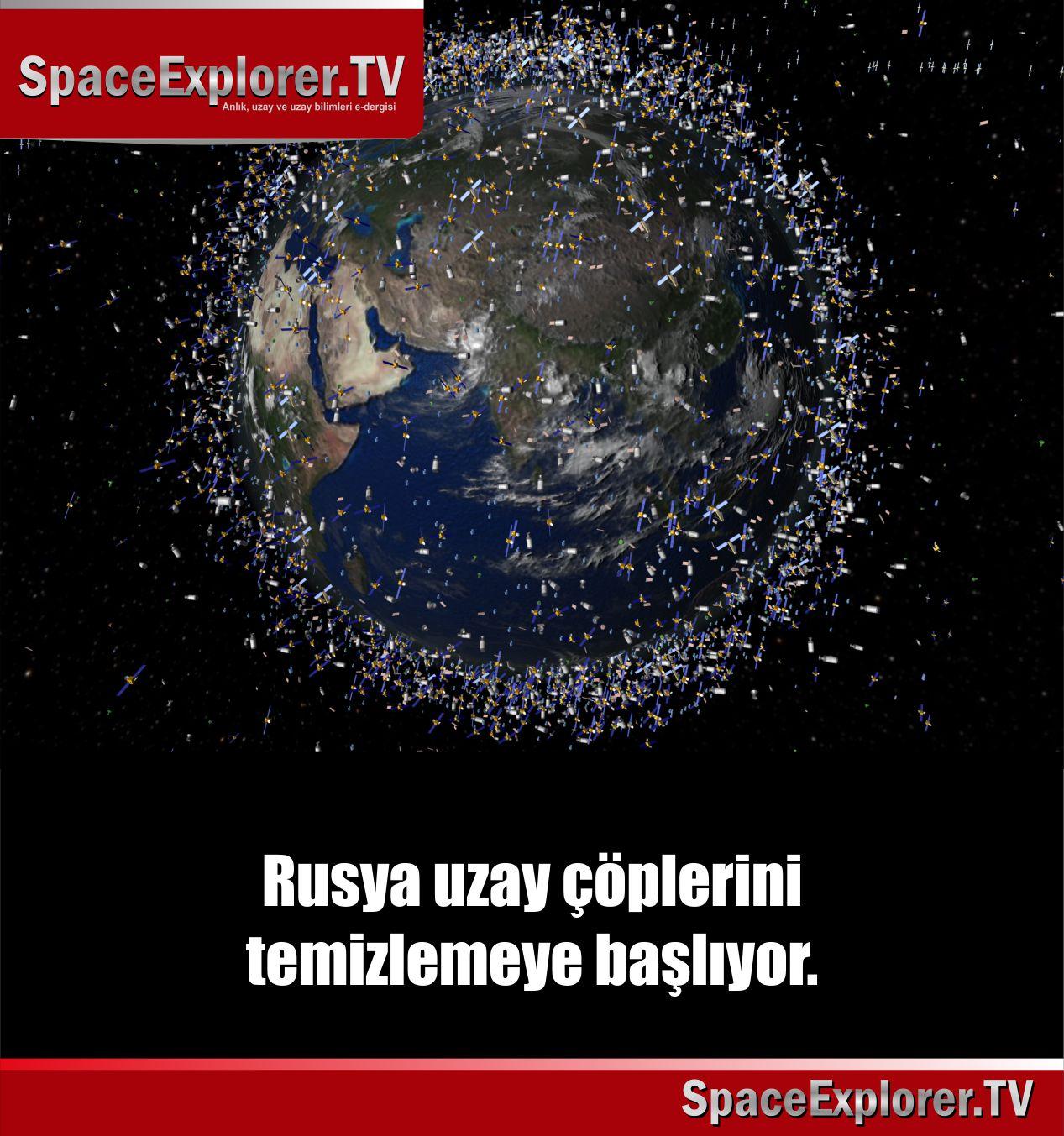 Uzay çöplüğü, Rusya, Roskosmos, ABD, Çin, Japonya, Uluslar Arası Uzay İstasyonu,