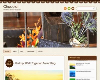 Chocolat WordPress Theme