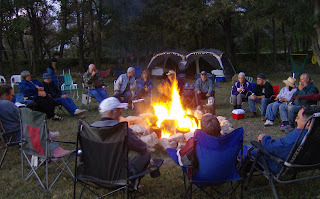 Hidden Valley RV Park Bonfire