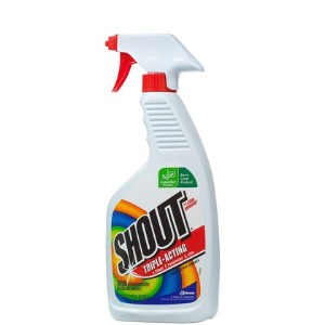 Raising Three Girls: Shout Stain Remover