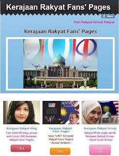 Kerajaan Rakyat Facebook Page