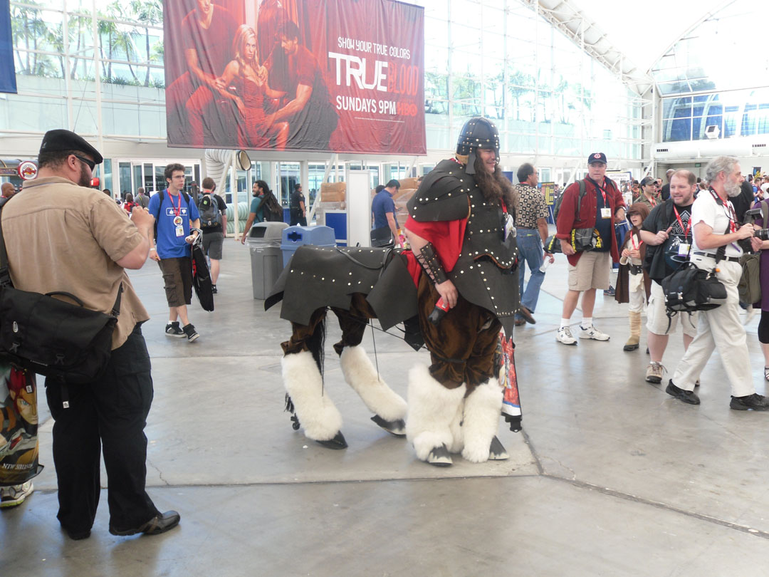 how to make a centaur costume with moving legs