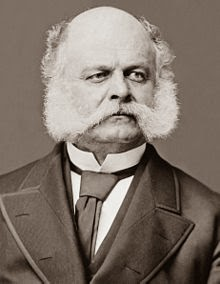 General Burnside's sideburns, a facial hair pioneer - photo source: www.wiki(dot)com