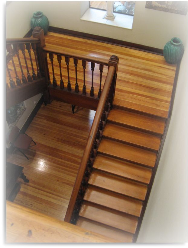 Muebles y carpinteria capita escalera de madera - Muebles en escalera ...