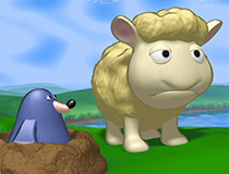 3D comic artwork • comic scenarios • Seamour Sheep comic series | 3D striptekeningen • stripscenario's • Seamour Sheep stripreeks