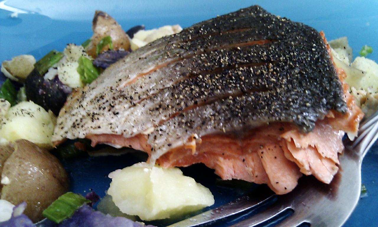 Gordon Ramsay's Crispy Salmon
