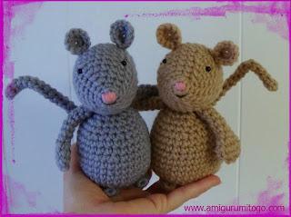 amigurumi mice