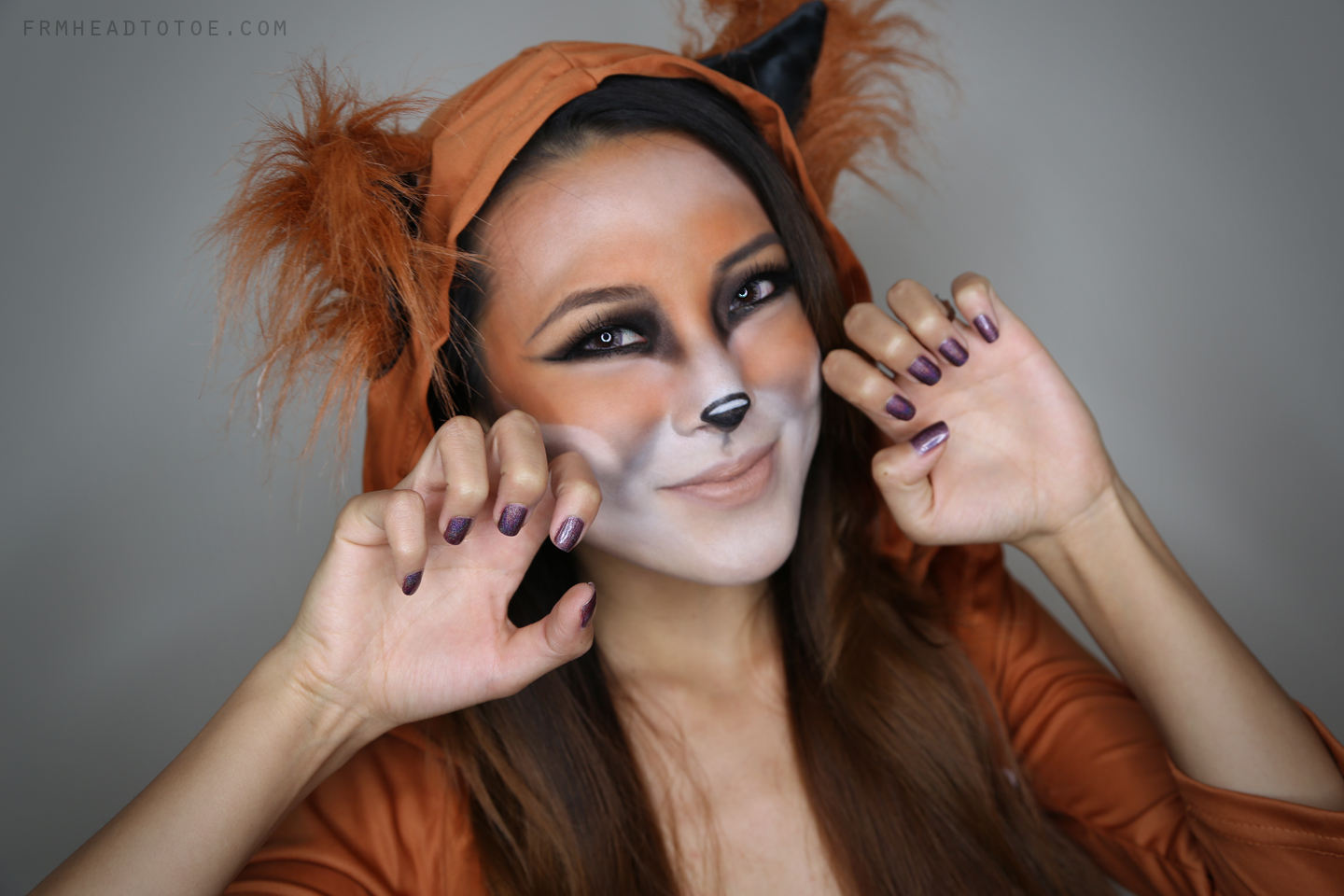 fox halloween tutorial! - from head to toe