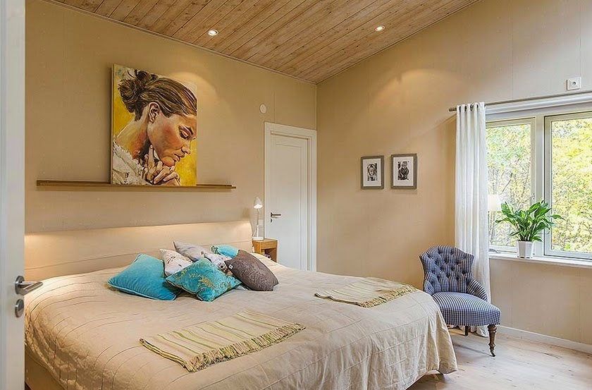 pewarnaan desain dinding kamar tidur