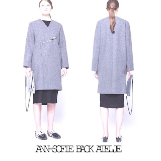 Princess Victoria - ANN-SOFIE BACK Zip Coat