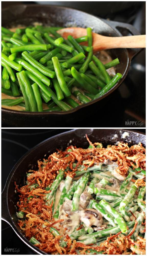 Amazing Green Bean Casserole — grain-free and primal │ thehappytulip.com