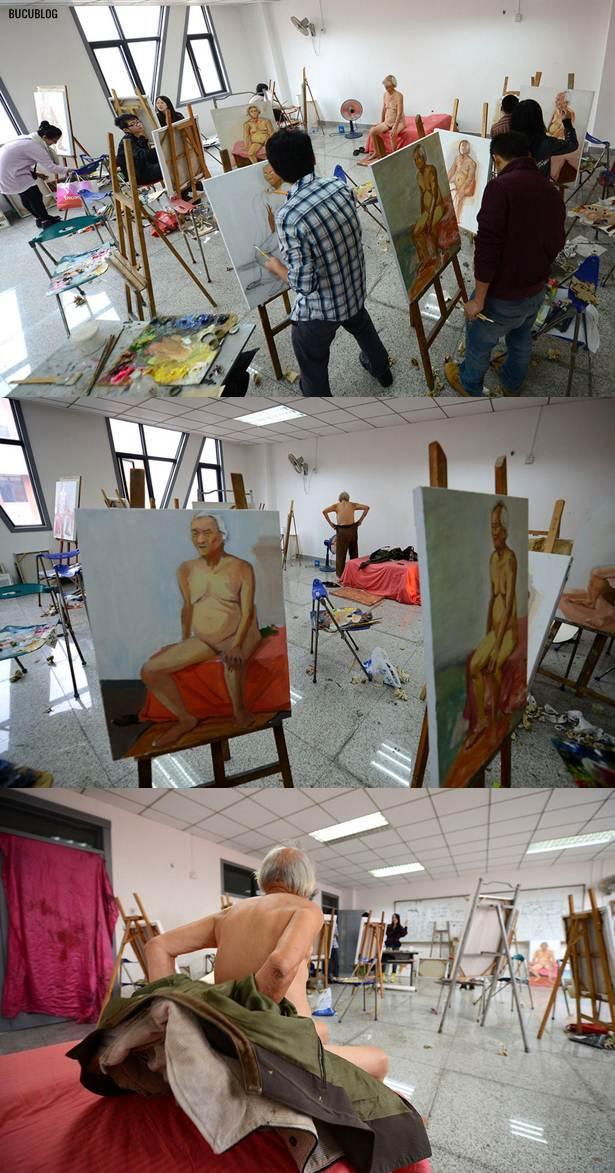 Model Lelaki Bogel Berusia 84 Tahun (6 Gambar)