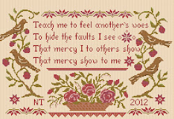 Teach me to feel another&#39;s woes sampler