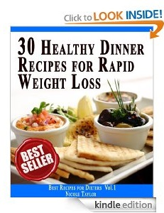 Free eBook Feature: 30 Healthy Dinner Recipes for Rapid Weight Loss