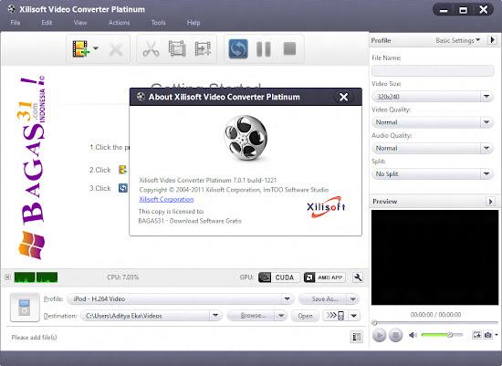 Xilisoft Video Converter Platinum 7 Full Keygen 2