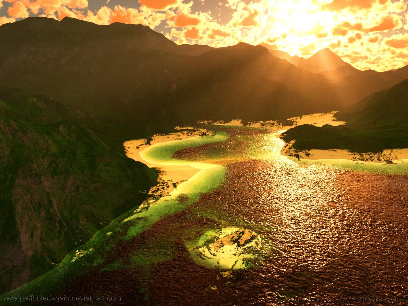 Tropical Lagoon Wallpapers