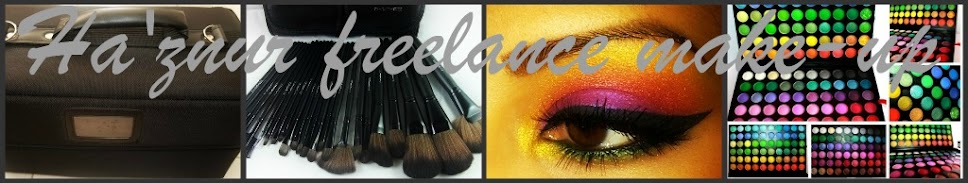 HA'ZNUR FREELANCE MAKE-UP