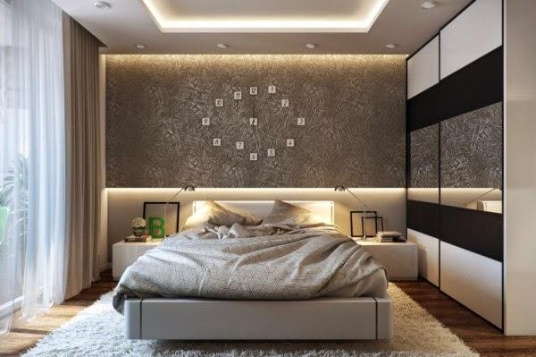 5169 ديكورات و اثاث غرف نوم   حوائط و الوان لغرفة نوم مودرن و كلاسيك