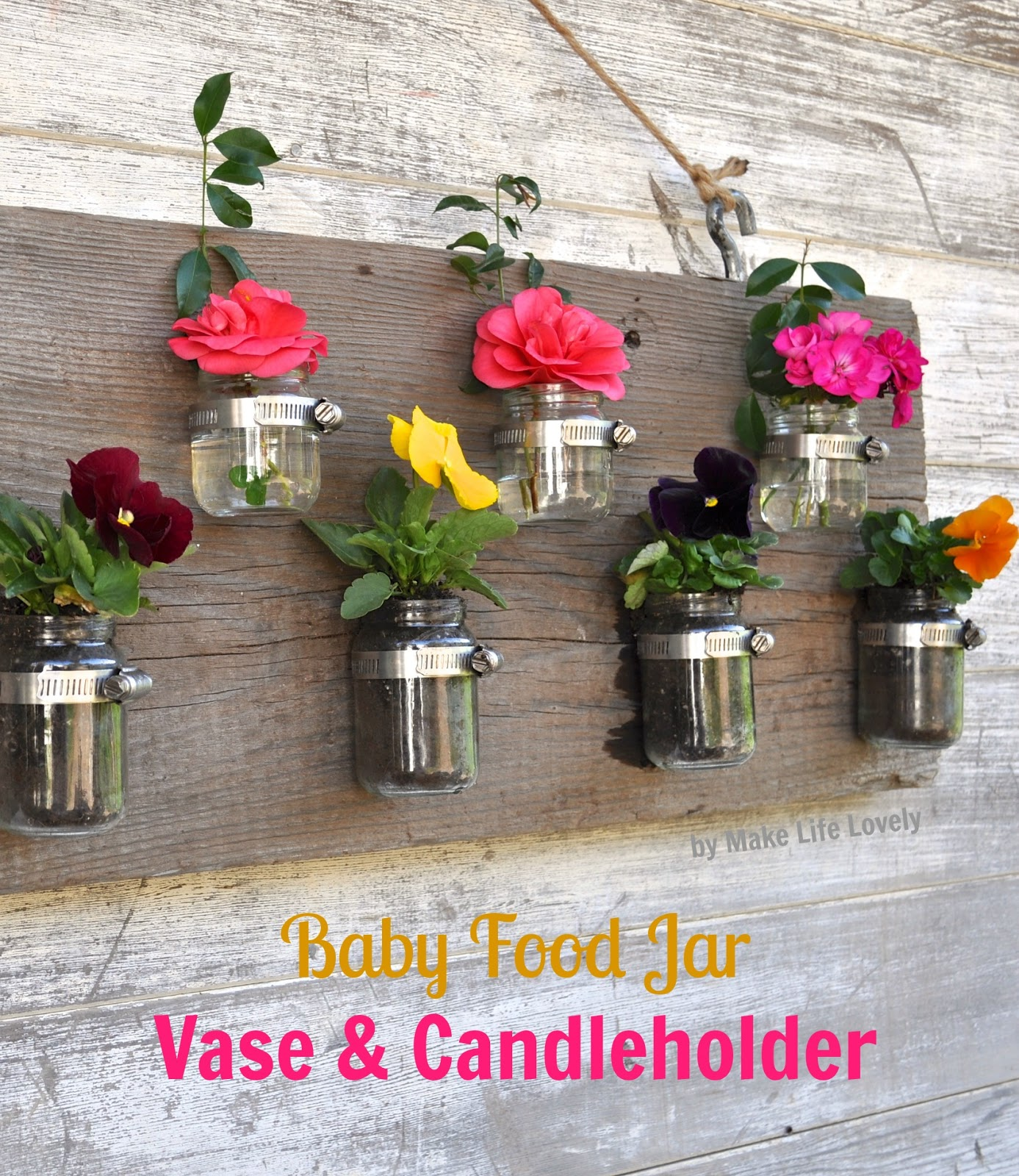 Diy baby food jar vase candle holder craft o maniac my reviewsmspy