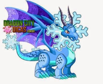 Dragão Floco de Neve