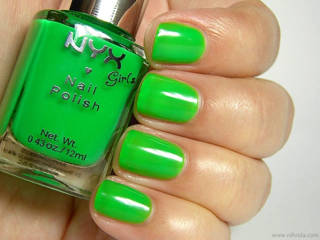 NYX Girls Nail Polish in Pimp My Nail