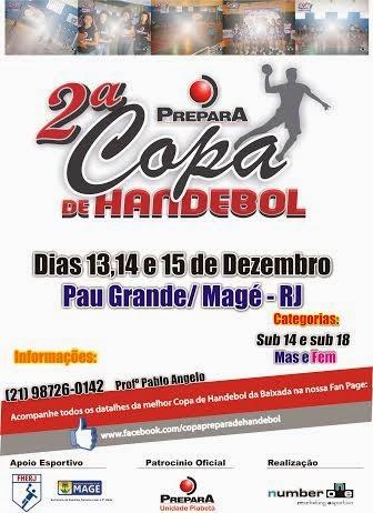 HANDEBOL EM MAGÉ - DEZEMBRO 2013