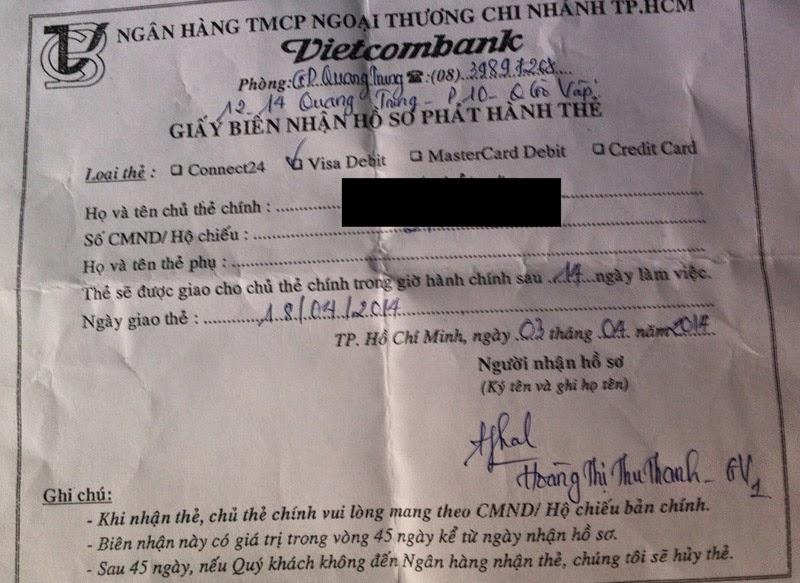 Vietcombank khi chữ tín không được coi trọng