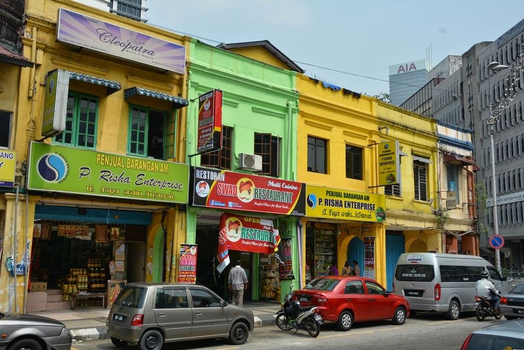 Little India Kuala Lumpur colors