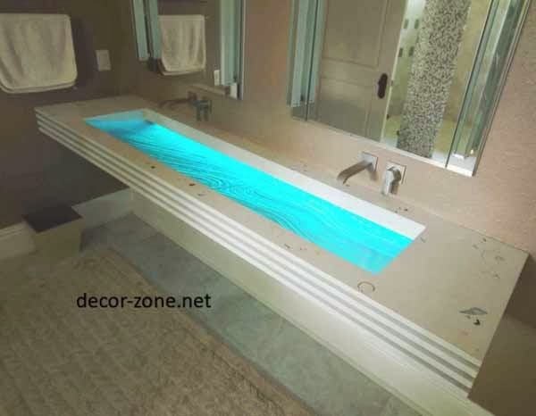 creative bathroom lighting ideas