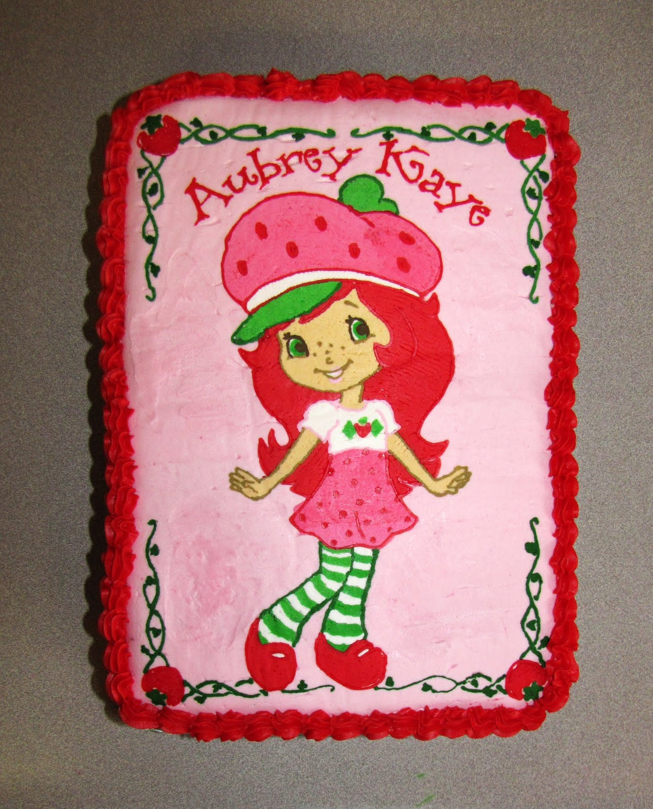 The Buell Family Strawberry Shortcake Birthday Party