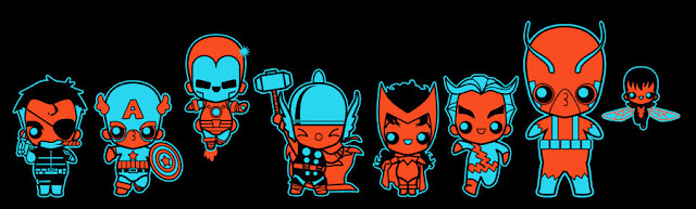 chibi avengers 001 por marisolivier