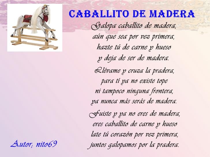 CABALLITO DE MADERA